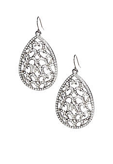 ABS by Allen Schwartz Openwork Teardrop Earrings