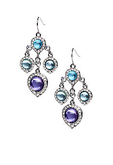 ABS by Allen Schwartz Mini Chandelier Earrings