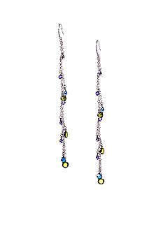 ABS by Allen Schwartz Linear Charm Earrings