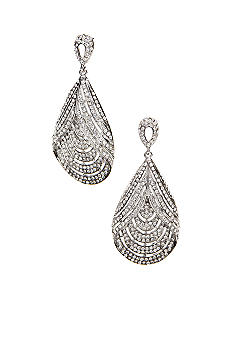 ABS by Allen Schwartz Teardrop Chandelier Earrings