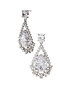 ABS by Allen Schwartz Double Drop Earrings