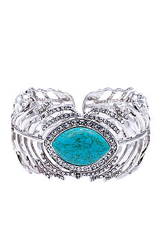 ABS by Allen Schwartz Feather Cuff Bangle