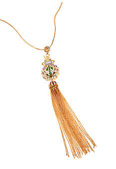 ABS by Allen Schwartz Y Tassel Necklace