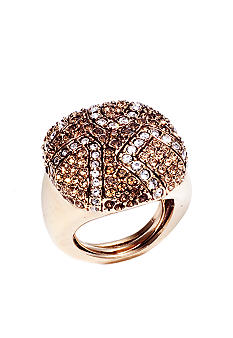 ABS by Allen Schwartz Pave Square Ring