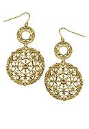 Kathleen Murphy Gold Vineyard Earring