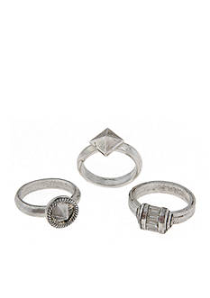 Erickson Beamon Rocks Helen of Troy Silver Ring