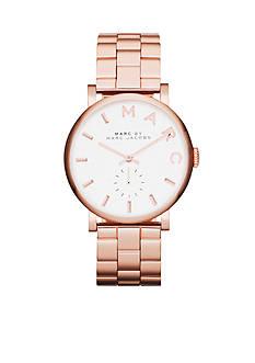 Marc Jacobs Women's Baker Rose Gold-Tone Three Hand Watch