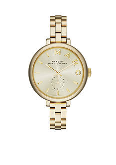 Marc Jacobs Women's Sally Gold-Tone Three Hand Watch
