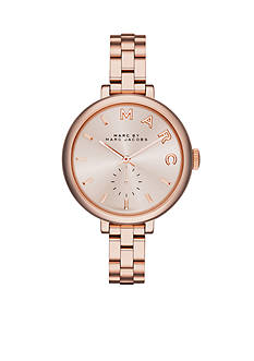 Marc Jacobs Women's Sally Rose Gold-Tone Three Hand Watch