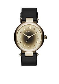 Marc Jacobs Women's Dotty Black Three Hand Watch