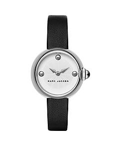 Marc Jacobs Women's Courtney Black Leather Strap Watch