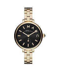 Marc Jacobs Women's Sally Gold-Tone Three Hand Watch