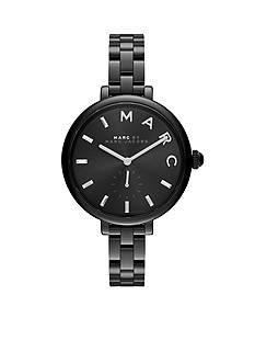Marc Jacobs Women's Sally Black IP Stainless Steel Three Hand Watch
