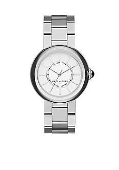 Marc Jacobs Women's Courtney Silver-Tone Three-Hand Bracelet Watch
