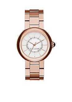 Marc Jacobs Women's Courtney Rose Gold-Tone Three-Hand Bracelet Watch