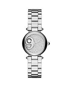 Marc Jacobs Women's Dotty Silver-Tone Three-Hand Watch