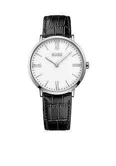 BOSS by Hugo Boss Men's Jackson Black Leather Watch