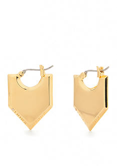 Trina Turk Pierced Pointed Drop Earring