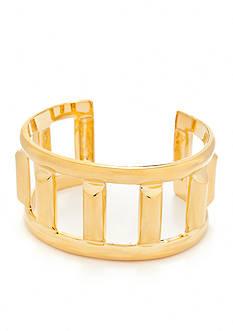 Trina Turk Bar Openwork Cuff Bracelet