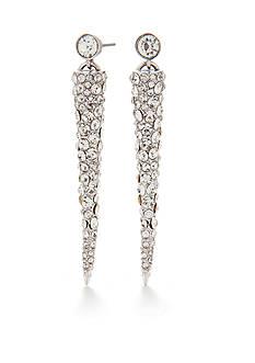 Trina Turk Pierced Pave Cone Drop Earrings