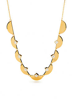 Trina Turk Crescent Stone Collar Necklace