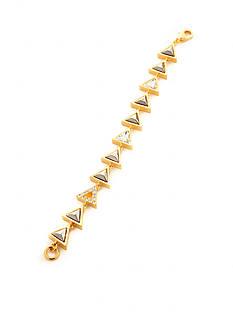 Trina Turk Triangle Stone Flex Bracelet