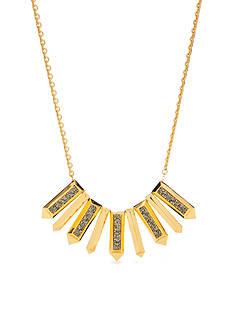 Trina Turk Pave Bar Shower Necklace