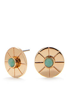 Trina Turk Stone Button Earring