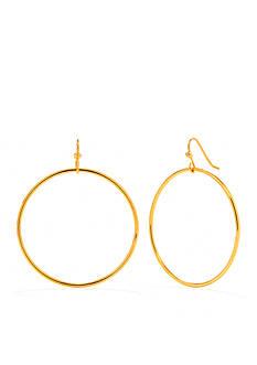 Trina Turk Brass Gypsy Hoop Earring