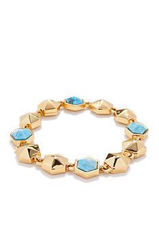Trina Turk Hexagon Stone Flex Bracelet