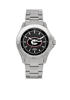 Jack Mason Men's Georgia Sport Bracelet Team Color Dial Watch