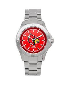 Jack Mason Men's Louisville Sport Bracelet Team Color Dial Watch
