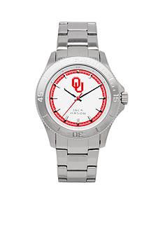 Jack Mason Men's Oklahoma Sport Bracelet Silver Dial Watch