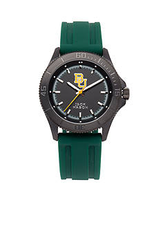 Jack Mason Men's Baylor Blackout Silicone Strap Watch