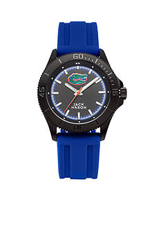 Jack Mason Men's Florida Blackout Silicone Strap Watch
