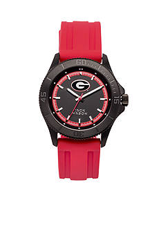Jack Mason Men's Georgia Blackout Silicone Strap Watch