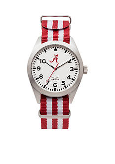 Jack Mason Alabama Striped Strap Watch