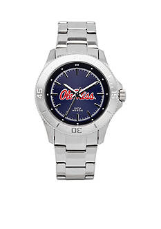 Jack Mason Women's Ole Miss Sport Bracelet Team Color Dial