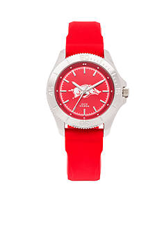 Jack Mason Women's Arkansas Sport Silicone Strap Watch