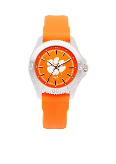 Jack Mason Women's Clemson Sport Silicone Strap Watch