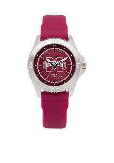 Jack Mason Women's Mississippi State Sport Silicone Strap Watch