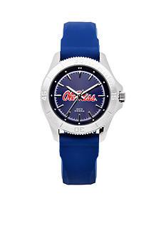 Jack Mason Women's Ole Miss Sport Silicone Strap Watch