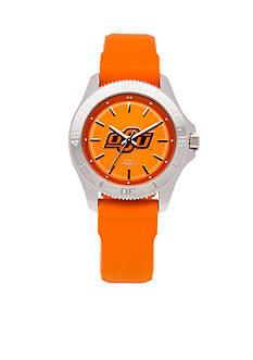 Jack Mason Women's Oklahoma State Sport Silicone Strap Watch