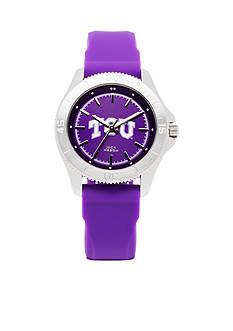 Jack Mason Women's TCU Sport Silicone Strap Watch