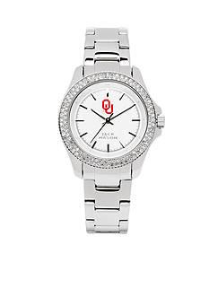 Jack Mason Women's Oklahoma Glitz Sport Bracelet Watch