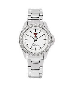Jack Mason Women's Texas Tech Glitz Sport Bracelet Watch
