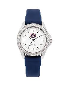 Jack Mason Women's Auburn Glitz Silicone Strap Watch