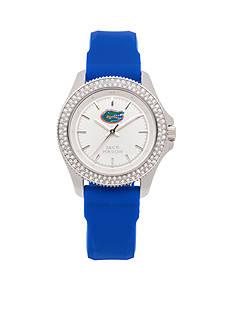 Jack Mason Women's Florida Glitz Silicone Strap Watch