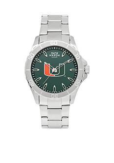 Jack Mason Men's Miami Sport Bracelet Team Color Dial Watch