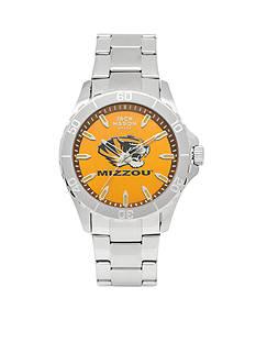 Jack Mason Men's Missouri Sport Bracelet Team Color Dial Watch